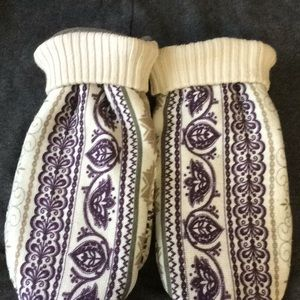 Other - Handmade sweater mittens